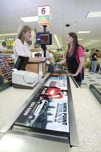 реклама в супермаркетах