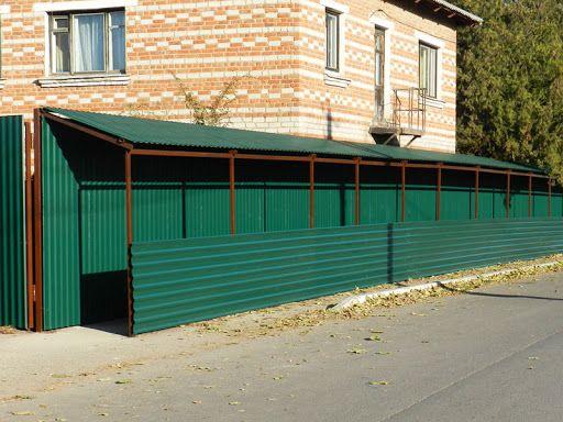 Брендовані паркани і тунелі для будівництва